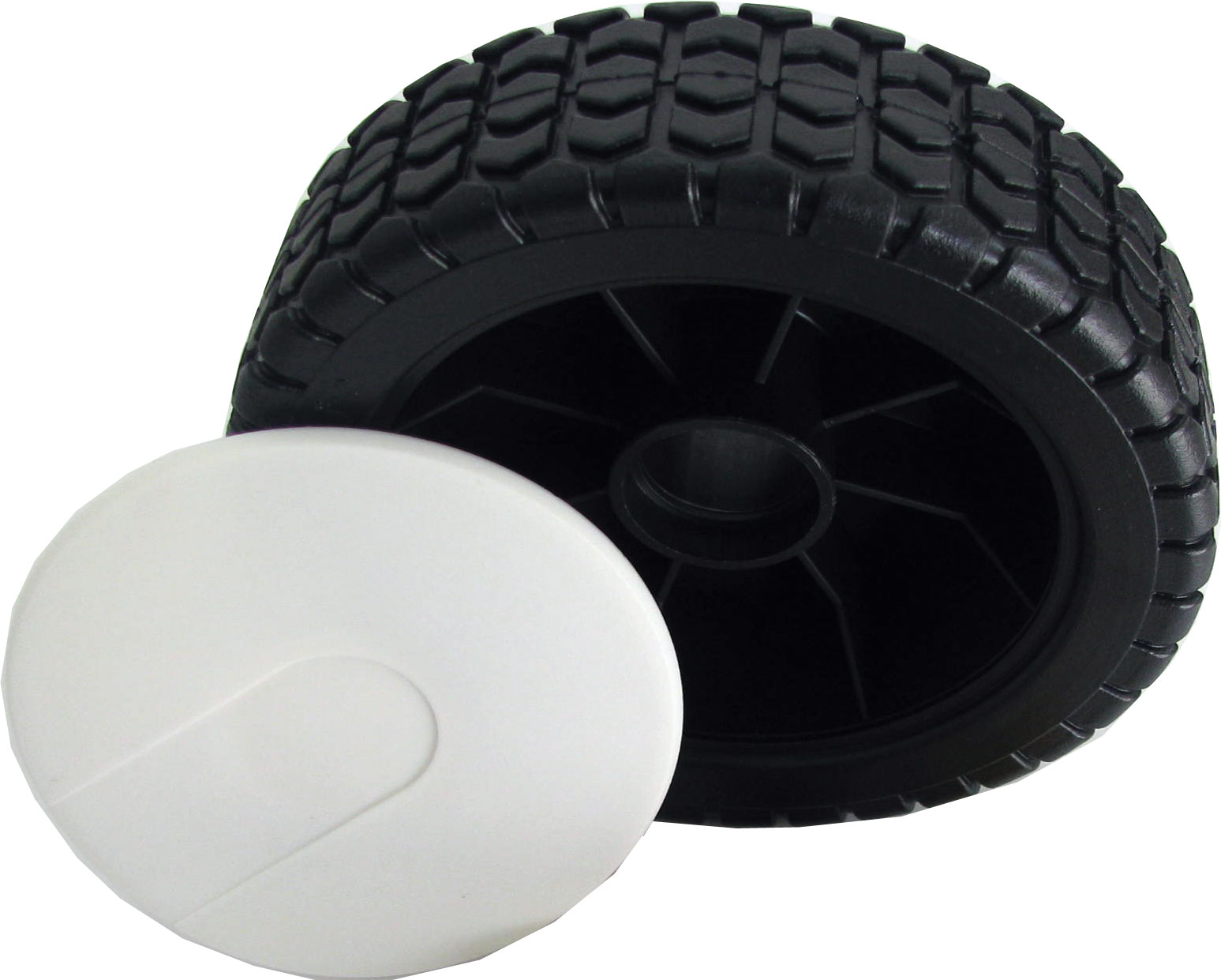 7dbe19022fd Колело за косачка пластмасово с втулки 150mm - Резервни части